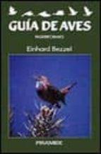 GUIA DE AVES: PASERIFORMES