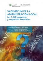 VADEMÉCUM DE LA ADMINISTRACIÓN LOCAL (EBOOK)