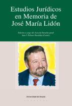 ESTUDIOS JURÍDICOS EN MEMORIA DE JOSÉ M.ª LIDÓN (EBOOK)