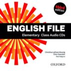 english file: elementary class audio cds third edition 9780194598583