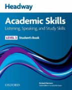 headway 3 academic skills listening /speaking  sb & audio cd pk-9780194741583