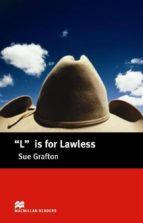 macmillan readers intermediate: l for lawless sue grafton 9781405057783