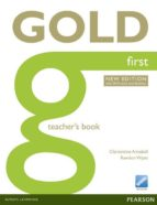 gold first ne teacher's book (with online resources) (examenes) 9781447907183