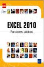 excel 2010: funciones basicas 9782746061583