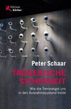 trügerische sicherheit (ebook)-peter schaar-9783896845283