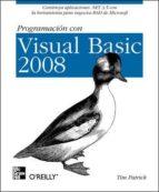 PROGRAMACION CON VISUAL BASIC 2008
