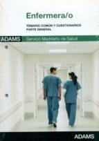 ENFERMERA/O SERVICIO MADRILEÑO DE SALUD