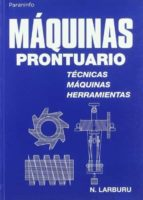 maquinas: prontuario nicolas larburu arrizabalaga 9788428319683
