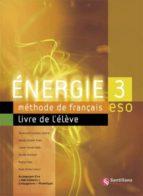 energie 3 livre d eleve + diptico 9788429498783