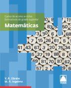 matemáticas acceso grado superior-9788430733583