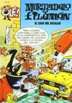 mortadelo y filemon: el caso del bacalao (ole! nº 95)-f. ibañez-9788440654083