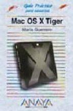 Mac OS X Tiger (Guías Prácticas)