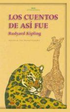 los cuentos de asi fue rudyard kipling 9788446015383