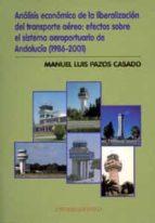 analisis economico de la liberalizacion del transporte aereo: efe ctos sobre el sistema aeroportuario de andalucia (1986-2001)-manuel luis pazos casado-9788447208883