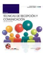 manual. técnicas de recepción y comunicación. edición internacional-9788468159683