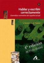 hablar y escribir correctamente tomo ii: gramatica-leonardo gomez torrego-9788476358283