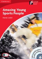 CDR1: Amazing Young Sports People Level 1 Beginner/Elementary Book with CD-ROM/Audio CD Pack (Cambridge Discovery Readers)