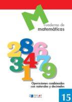 cuaderno de matematicas, nº 15-9788489655683