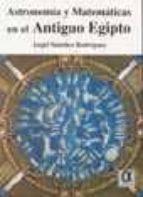 astronomia y matematicas en el antiguo egipto-angel sanchez-9788495414083