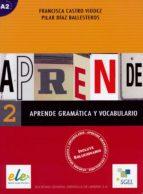 aprende gramatica y vocabulario 2 9788497781183