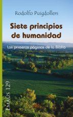 siete principios de humanidad (ebook) rodolf puigdollers noblom 9788498057683