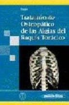 tratamiento osteopatico de las algias del raquis toracico françois ricard 9788498350883