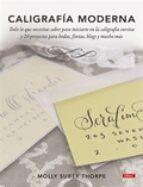 caligrafia moderna molly suber thorpe 9788498745283