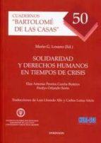 solidaridad y derechos humanos en tiempos de crisis-mario g. losano-9788499828183