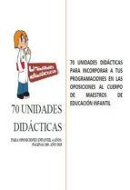 70 unidades didácticas para oposiciones infantil 4 años (ebook)-cdlap00004783