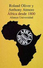AFRICA DESDE 1800