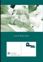 RÉGIMEN FISCAL DE LA EXTINCIÓN DE LA PAREJA DE HECHO (EBOOK)