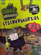 DINO SUPERSAURIOS. STICKERSAURIOS