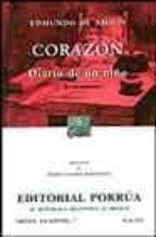 CORAZON: DIARIO DE UN NIÑO (18ª ED.)