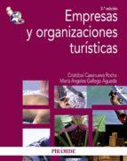 EMPRESAS Y ORGANIZACIONES TURISTICAS (2ª ED.)