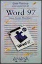 WORD 97 (GUIAS PRACTICAS)
