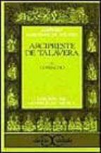 Arcipreste de Talavera o Corbacho                                               . (CLASICOS CASTALIA. C/C.)