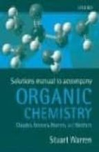 Solutions Manual To Organic Chemistry (See F4)