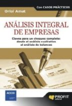 ANÁLISIS INTEGRAL DE EMPRESAS (EBOOK)