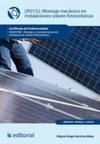 Montaje Mecánico En Instalaciones Solares Fotovoltáica. Enae0108