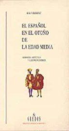 EL ESPAÑOL EN EL OTOÑO DE LA EDAD MEDIA SOBRE EL ARTICULO Y LOS P RONOMBRES