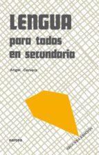 LENGUA PARA TODOS EN SECUNDARIA (EBOOK)