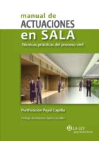 MANUAL DE ACTUACIONES EN SALA (EBOOK)