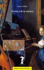 Estética de la música (La balsa de la Medusa nº 116)