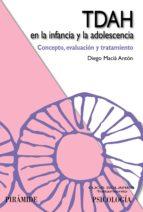 TDAH EN LA INFANCIA Y LA ADOLESCENCIA (EBOOK)