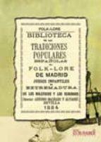 FOLKLORE DE MADRID
