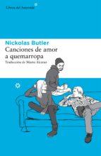 CANCIONES DE AMOR A QUEMARROPA (EBOOK)