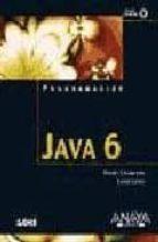 JAVA 6 (PROGRAMACION) (INCLUYE CD-ROM)
