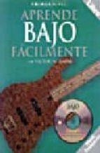aprende bajo facilmente (primer nivel) (inlcuye cd) victor barba 9780825627293