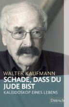 schade, dass du jude bist (ebook)-walter kaufmann-9783947373093
