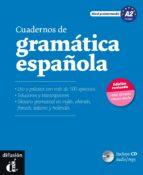 cuadernos de gramatica española (nivel preintermedio a2)(incluye cd audio/mp3)-9788415620693